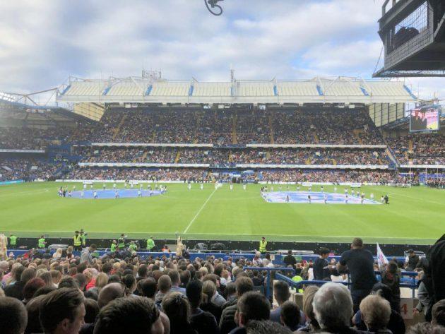 Earthsea goes to Soccer Aid 2019